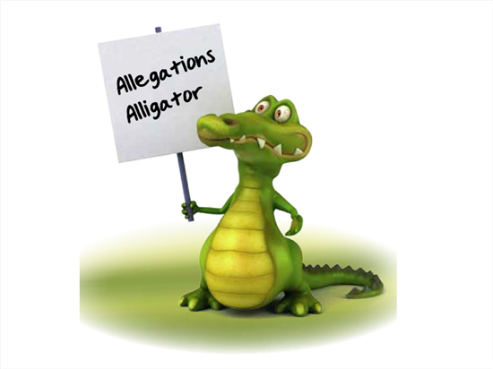 Allegations Alligator